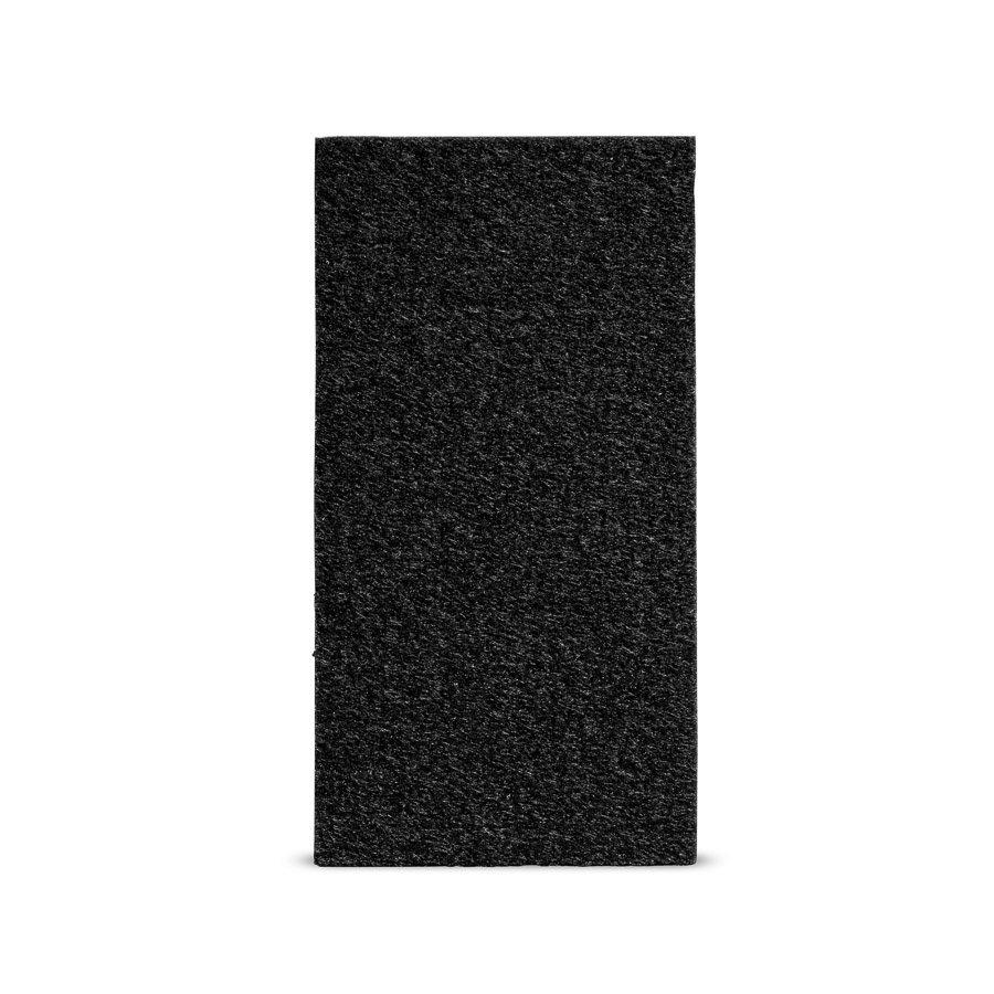Viltglijder zelfklevend 50x100mm - zwart