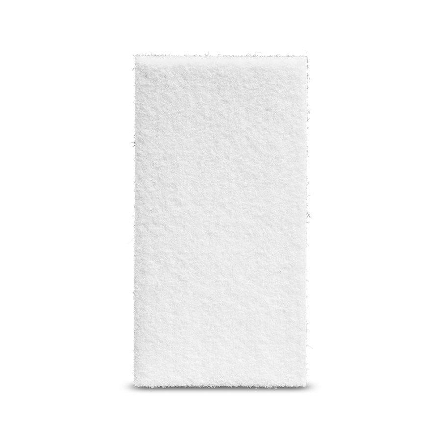 Viltglijder zelfklevend 50x100mm - wit