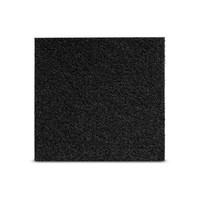 Viltglijder zelfklevend 100x100mm - zwart
