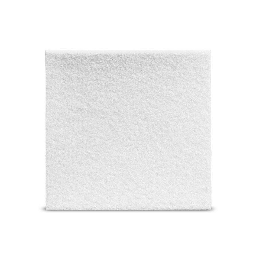 Viltglijder zelfklevend 100x100mm - wit