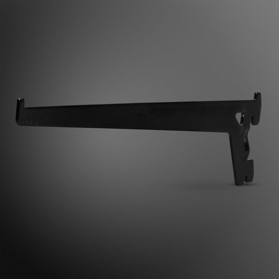 Plankdrager zwart 200mm
