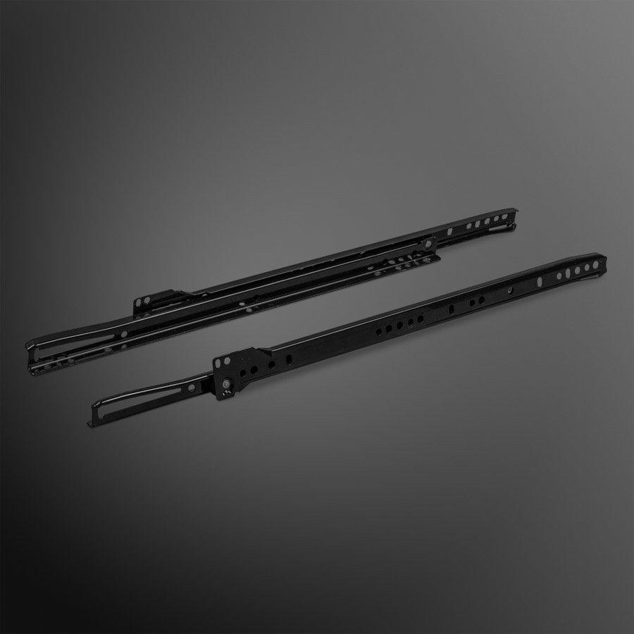 Rolgeleider 600mm – Zwart