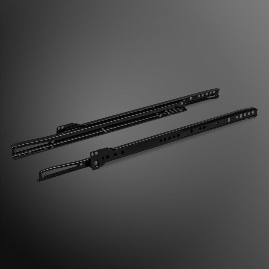 Rolgeleider 250mm – Zwart