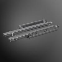 Push to Open ladegeleiders 550mm volledig uittrekbaar