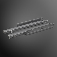 Push to Open ladegeleiders 250mm volledig uittrekbaar
