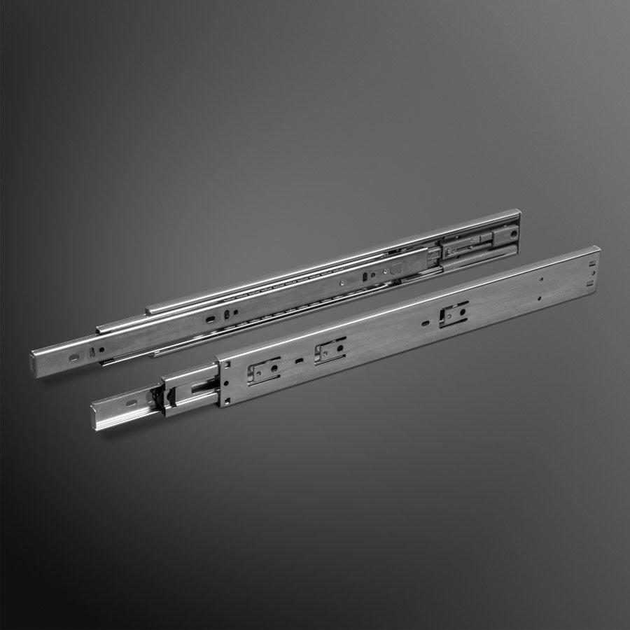 Push to Open ladegeleiders 250mm deels uittrekbaar (70%)