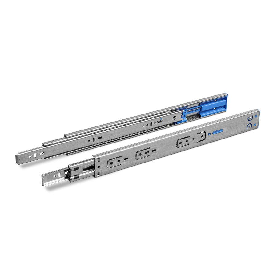 Softclose ladegeleiders 550mm volledig uittrekbaar