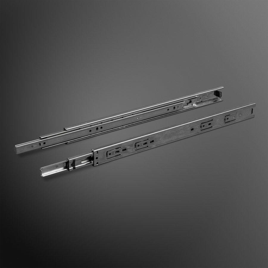 Volledig uittrekbare ladegeleiders 300mm standaard - 20KG
