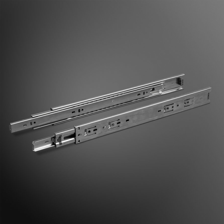 Volledig uittrekbare ladegeleiders 500mm standaard