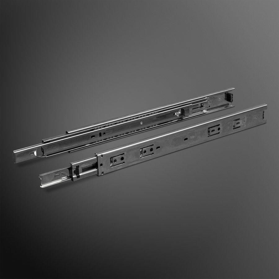 Volledig uittrekbare Ladegeleiders met Hoekstukken 550mm - 45KG