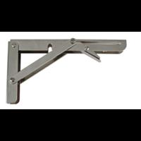 Inklapbare Plankdrager Staal Nikkel 200x110