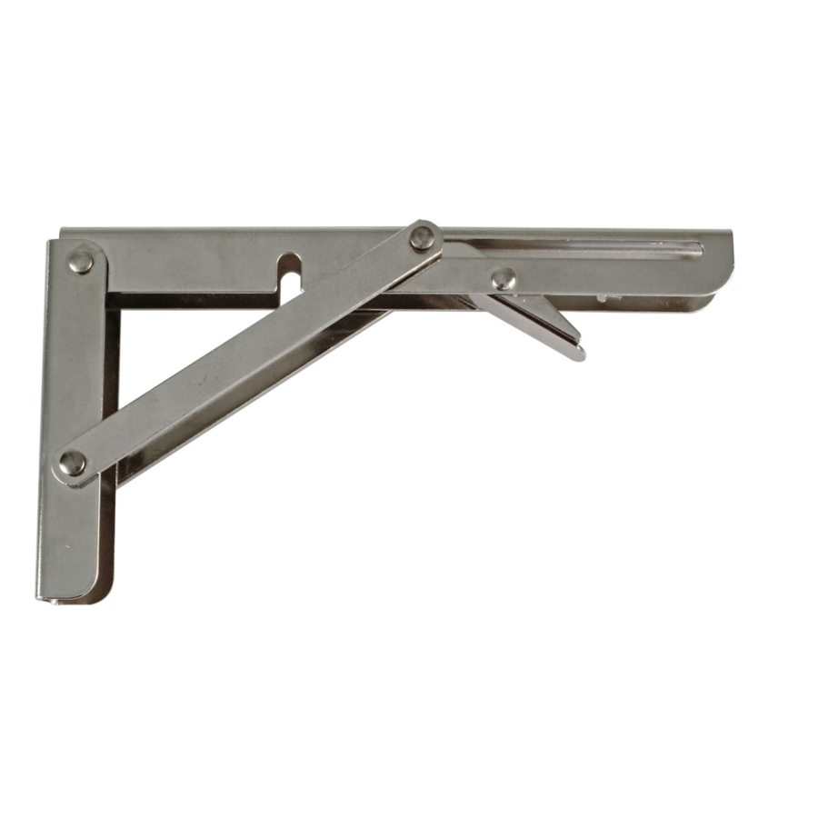 Inklapbare Plankdrager Staal Nikkel 300x155