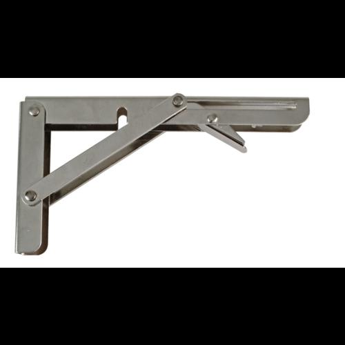 Inklapbare Plankdrager Staal Nikkel 405x215