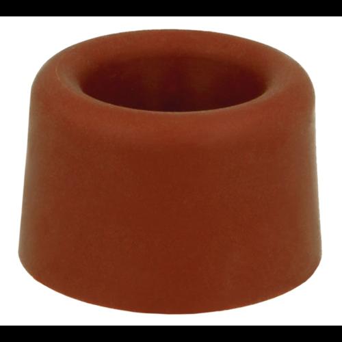2 Deurstoppers - Bruin 23x23mm