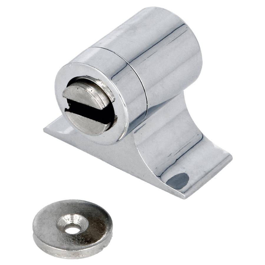 Deurstopper met magneet - chroom 44x55x43mm