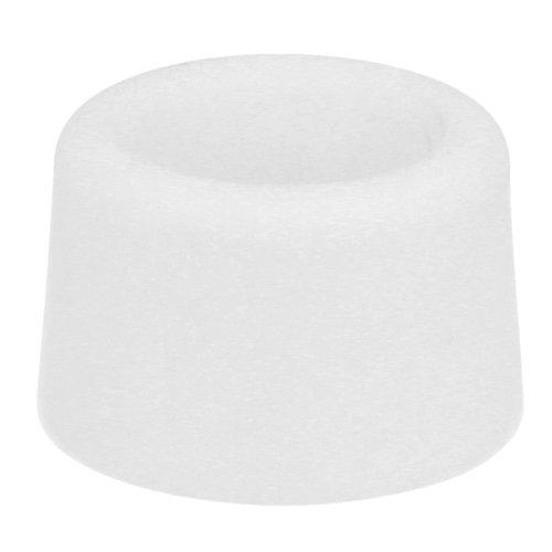2 Deurstoppers - wit 30x25mm