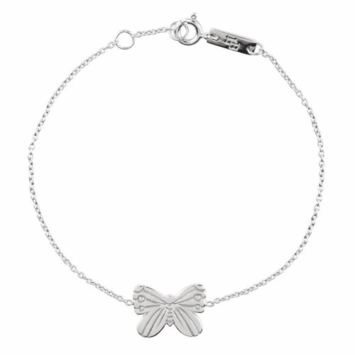 Lennebelle Petites Mother Bracelet 'Spread your wings and Fly' Silver