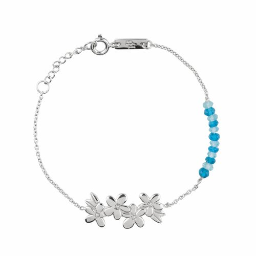 Lennebelle Petites Moeder Armband 'Let's make unforgettable memories' Zilver