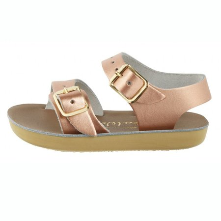 Salt Water Sandals Seawee Super Premium Rose Gold
