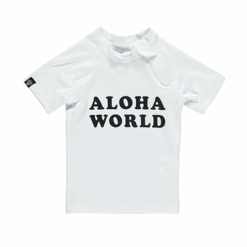 Beach and Bandits Aloha World UPF50+ Baby Tee
