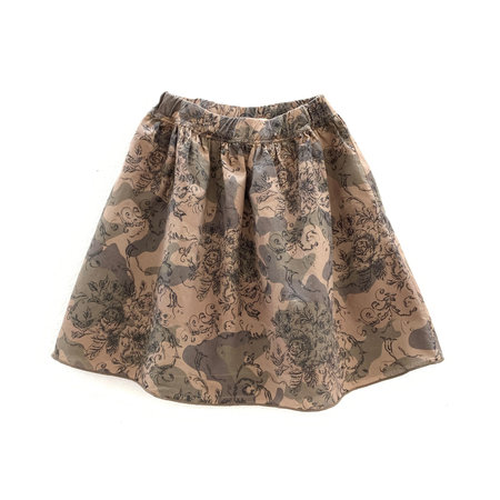Long Live The Queen Longlivetheskirt - Upcycled dark camouflage