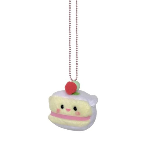 Pop Cutie Yummy Plush Necklace - Cake