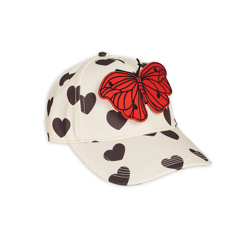 Mini Rodini Hearts cap - Limited stock