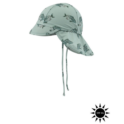 Soft Gallery Alex Sun Hat, AOP Spotfish