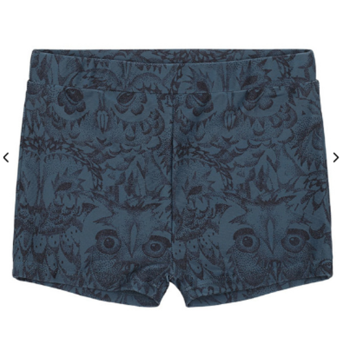 Soft Gallery Swim Pants, Orion Blue - AOP Owl