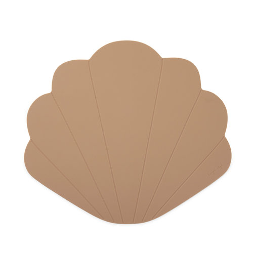 Konges Sløjd Silicone Placemat Clam - Blush