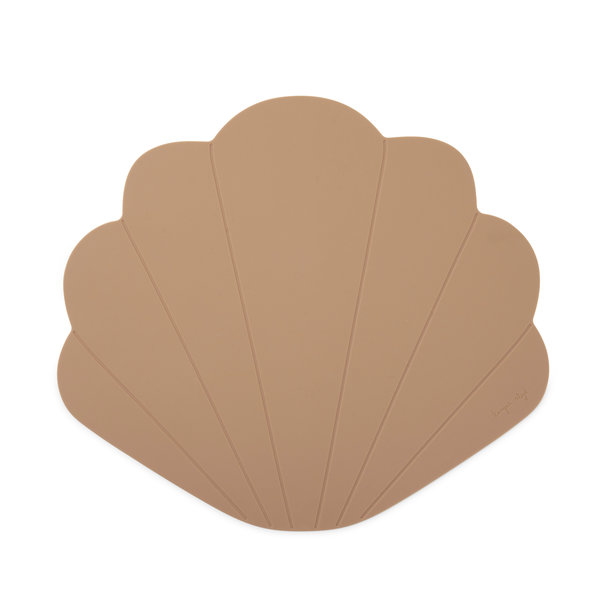 Silicone Placemat Clam - Blush