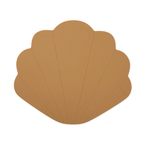 Konges Sløjd Silicone Placemat Clam - Terra Cotta