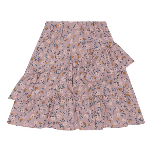 Soft Gallery Fine Skirt Woodrose - AOP Flowerberry