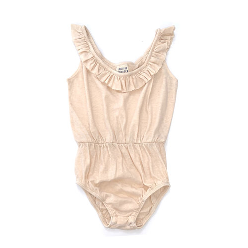Long Live The Queen Ruffle Body - Off white