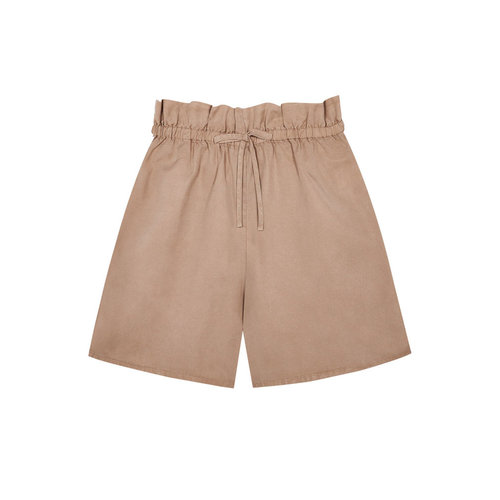 The New Society Angie WOMAN Short Camel