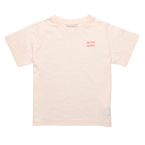 The New Society Logo Tee  - Blush