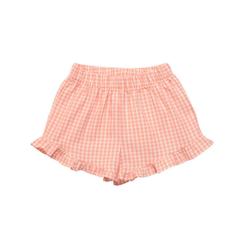 The New Society Rachel Short Coral Check