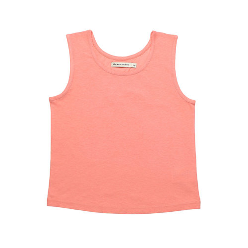 The New Society Ariel  Tee  - Coral