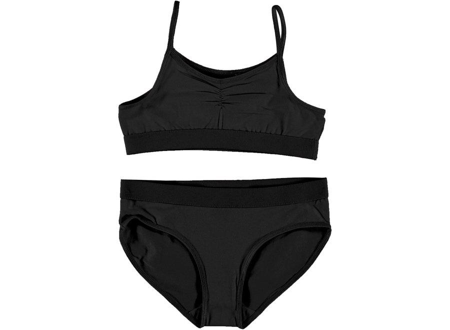 Jinny Banana Crepe Underwear - Black