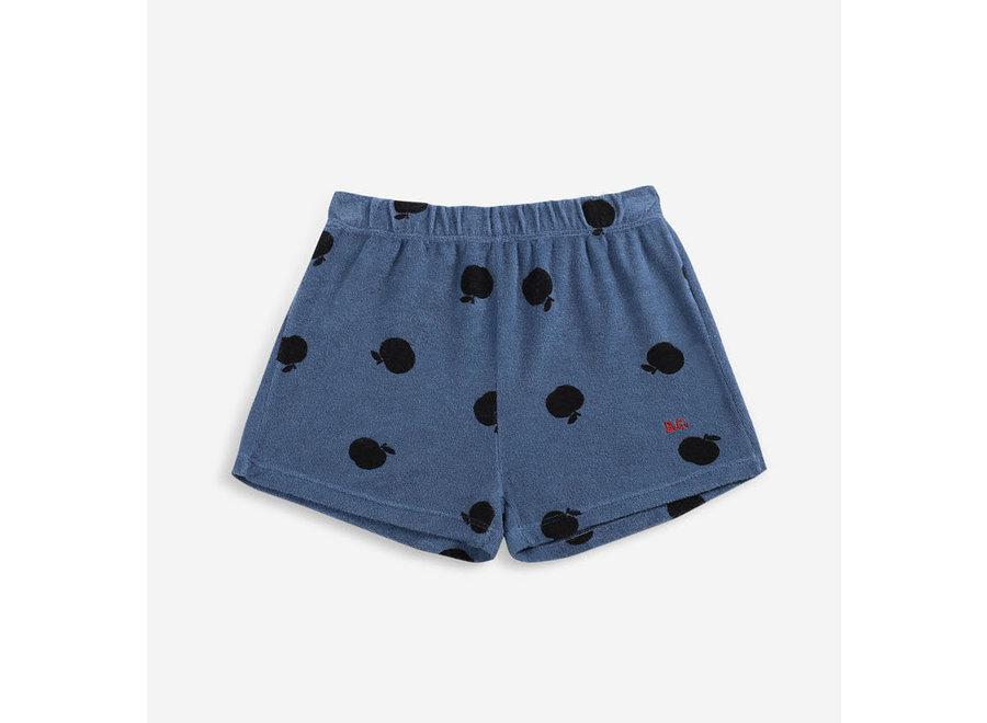 Poma Allover Terry Shorts - Blue