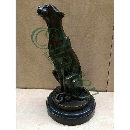 Beeld brons Cheetah