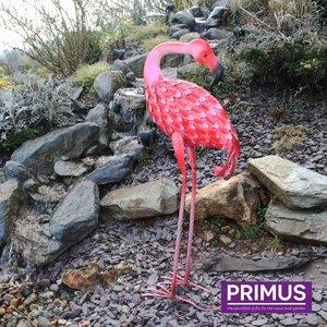 Primus Figuur 3d Flamingo achteruit kijkend