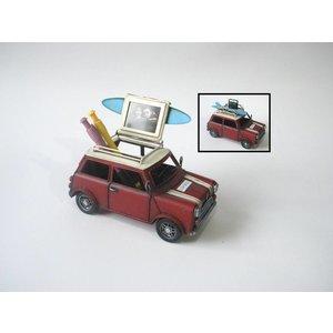 Eliassen Miniatuurmodel blik Mini Cooper met pennenbak functie