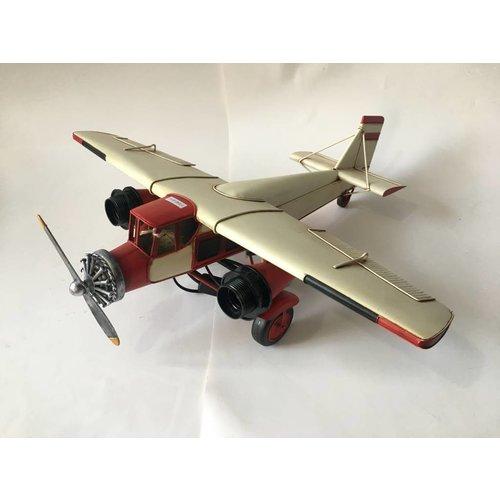 Eliassen Miniatuurmodel Oldtimer Vliegtuig  Groot