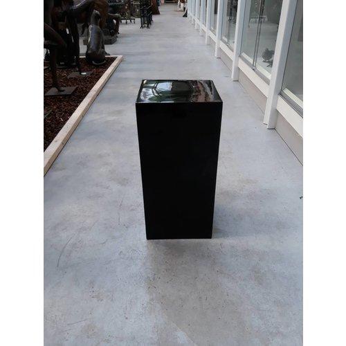 Eliassen Zuil  hoogglans Urta zwart 60cm