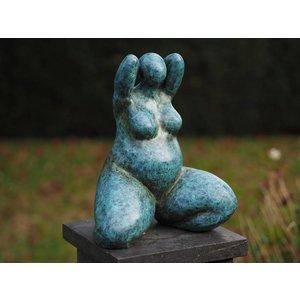 Eliassen Dikke dame beeld brons Belle Donna