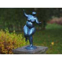 Dikke dame beeld brons Belle Mia