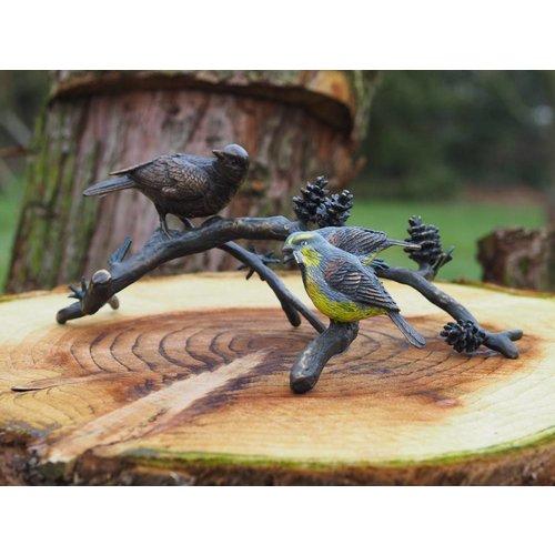 Eliassen Bronzen vogels op tak