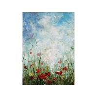 Olieverf schilderij Wilde Bloemen 1  50x70cm
