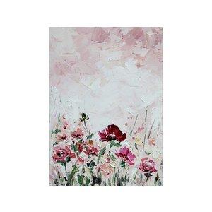 Eliassen Olieverf schilderij Wilde Bloemen 50x70cm
